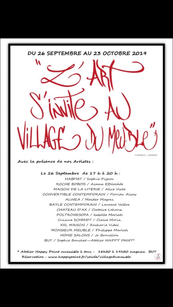 L Art S Invite Au Village Du Meuble Maïder Magrez